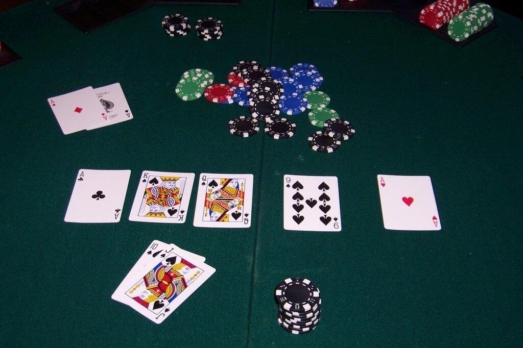 Poker-showdown