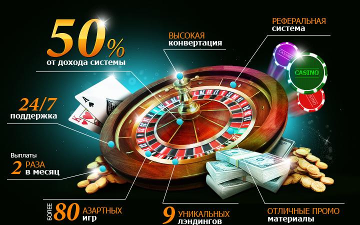 партнёрки онлайн казино